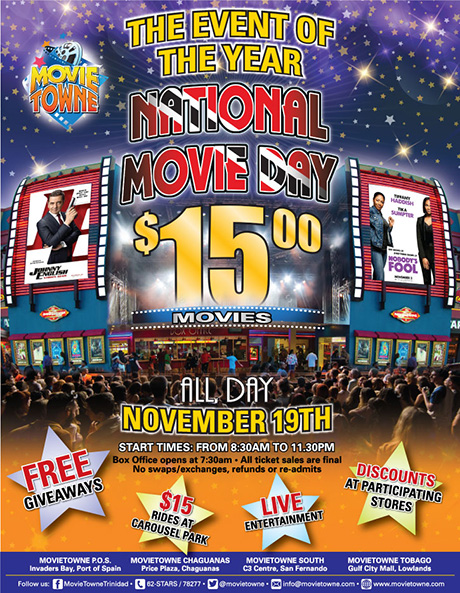 movietowne chaguanas contact number